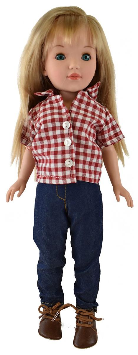 Купить Кукла Пепа блондинка, в брюках (в подарочной коробке), 41 см, Vidal Rojas Dolls,