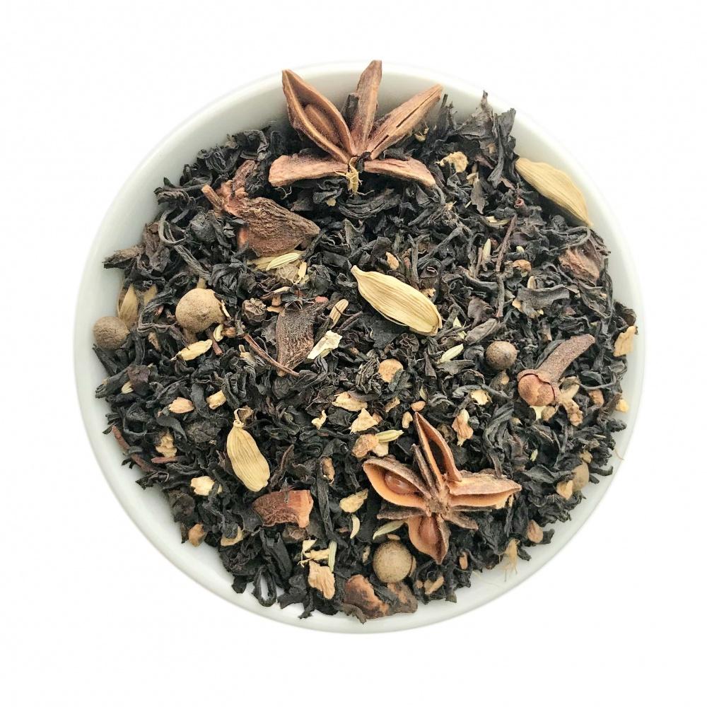Чай черный с добавками Масала 50 г фото