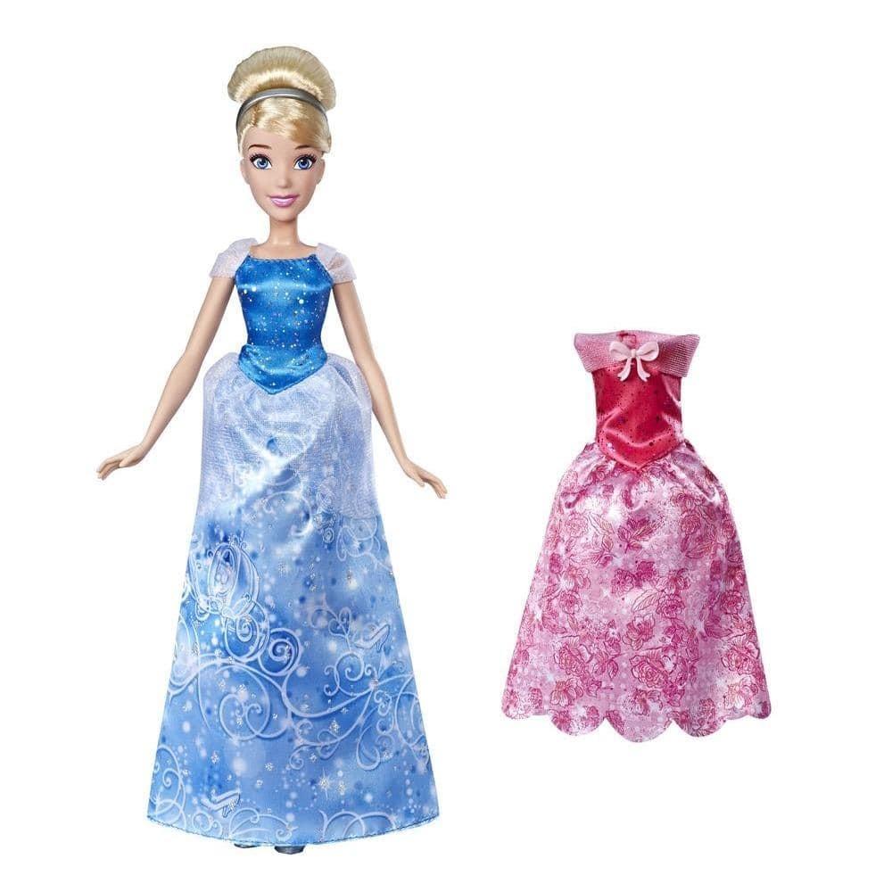 Кукла Disney Princess Золушка с нарядами