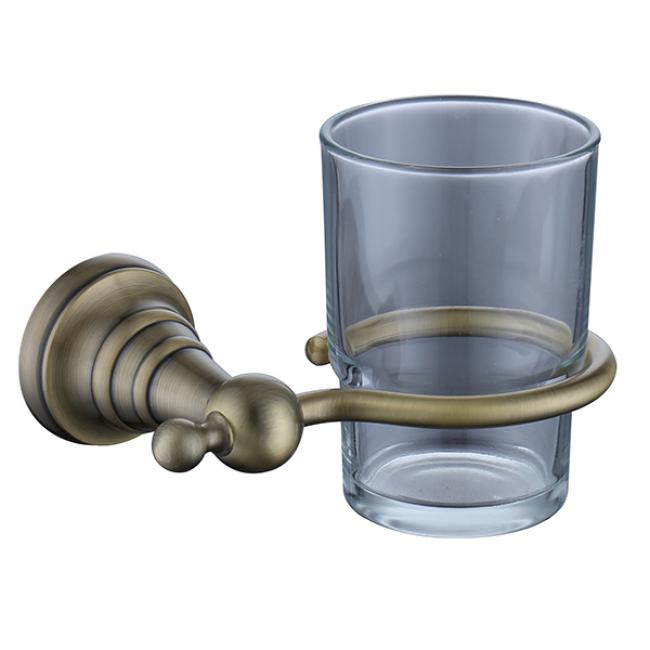 Держатель стакана(стекло) KAISER бронза (латунь)