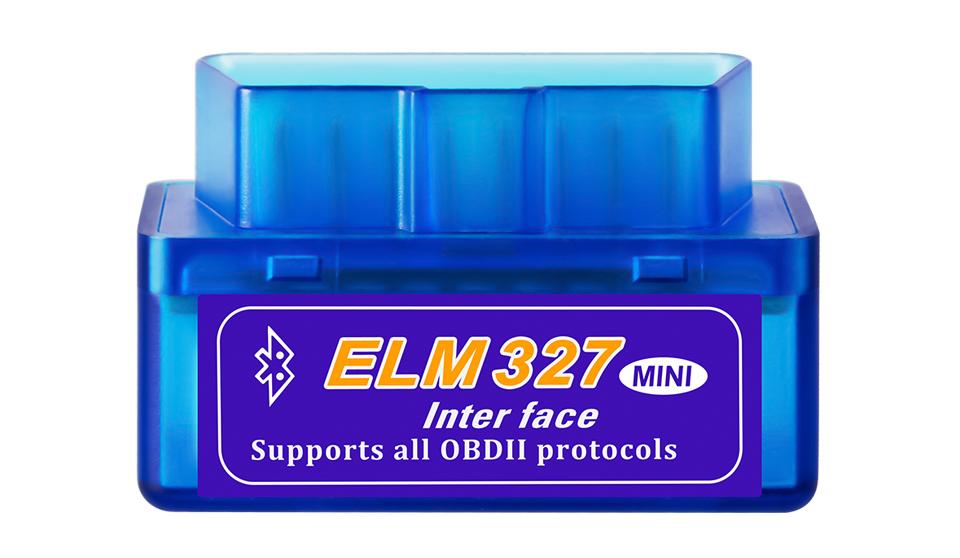 OBD II mini адаптер Bluetooth ELM327 v2.1