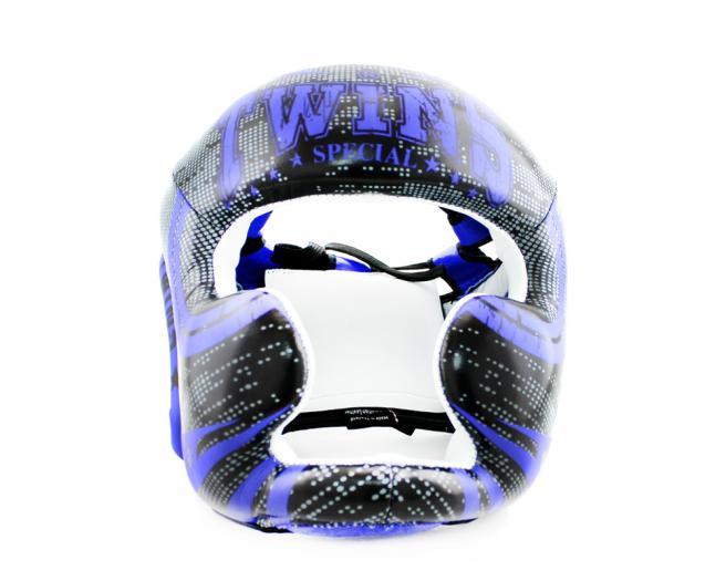 Боксерский шлем Twins FHGL3 TW5 черно синий
