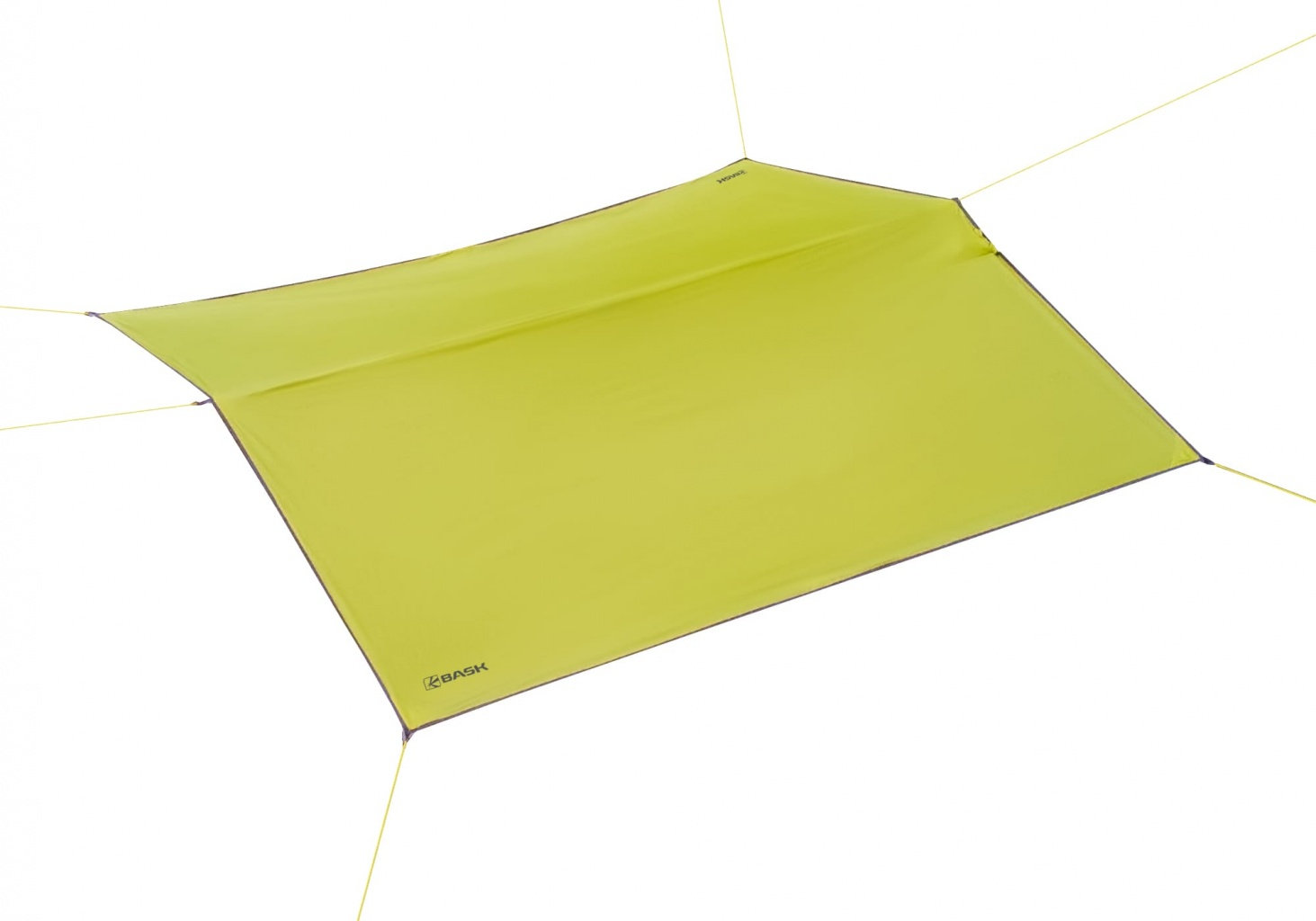 Тент Bask Canopy Silicone зеленый 4,5 x 3 м