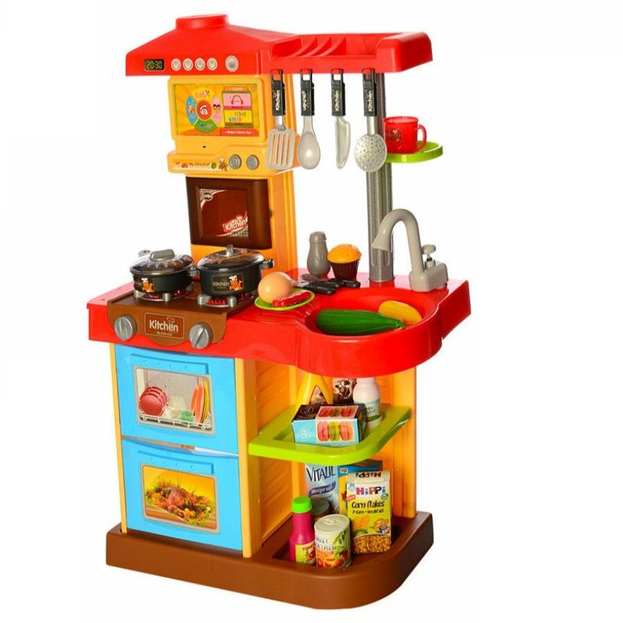 Купить Кухня детская Kitchen WD-R16 с пультом, свет, звук, вода, Детская кухня
