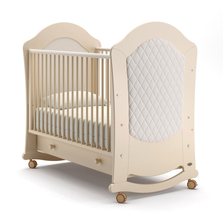 Детская кровать Nuovita Tempi dondolo Avorio, Слоновая кость фото