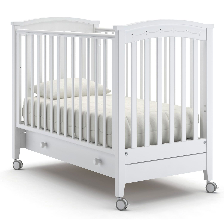 Детская кровать Nuovita Perla solo, белый