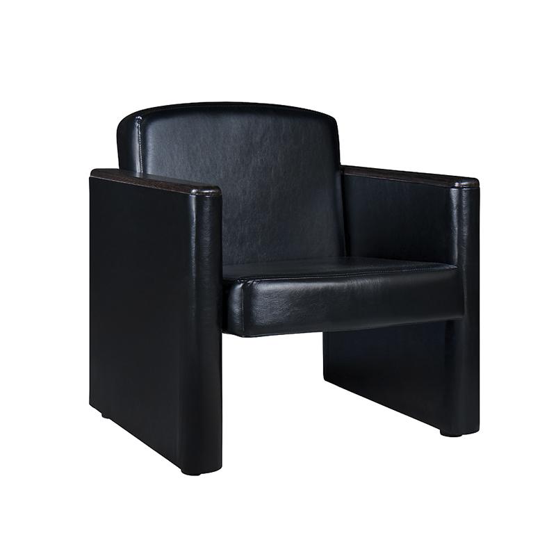 Кресло Болеро экокожа черный