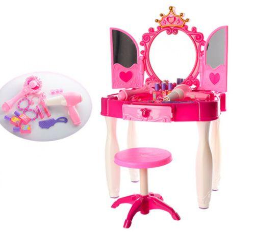 Купить Трюмо для девочки Волшебное зеркало 661-20, Tongde, Игрушечные туалетные столики