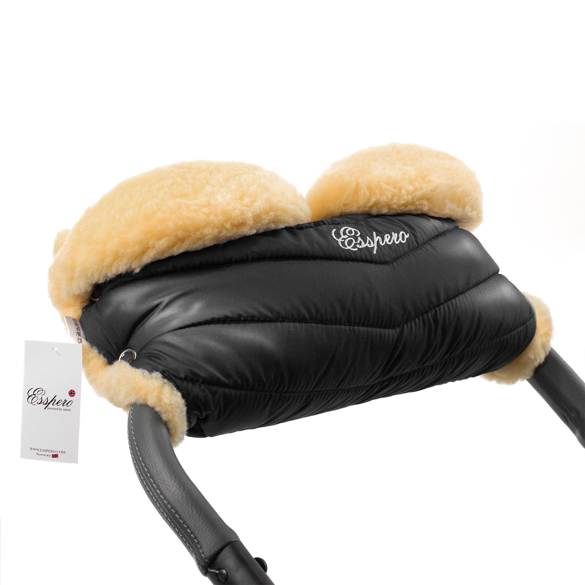 Купить Муфта для рук на коляску Esspero Cosy - Black, Муфты на коляску