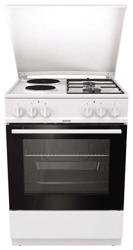 Комбинированная плита GEFEST K6121WG White
