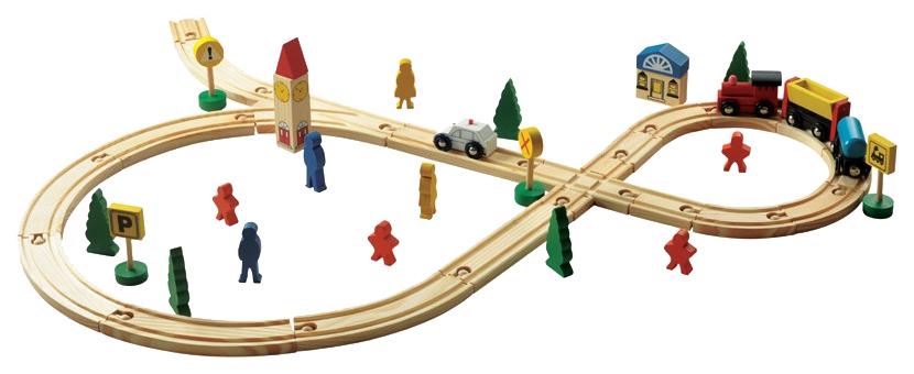 Купить Игровой набор МДИ Автострада Д285, Мир Деревянных Игрушек, Игровые наборы