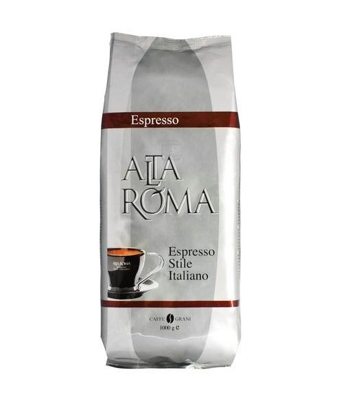 Кофе Alta Roma espresso натуральный жареный в зернах темнообжаренный 1 кг