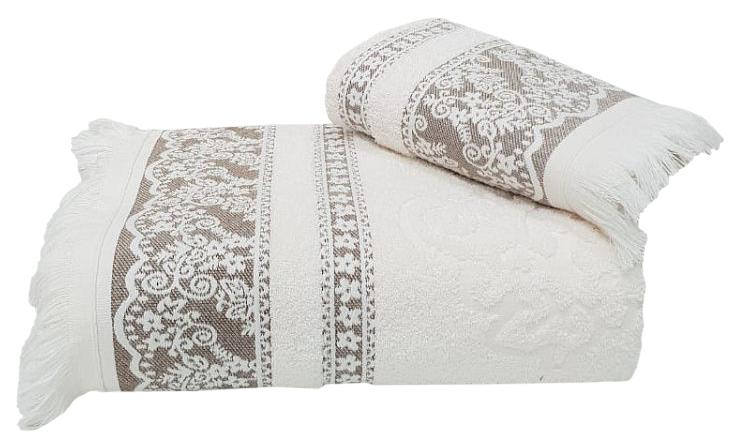 Банное полотенце, полотенце универсальное Nusa белый
