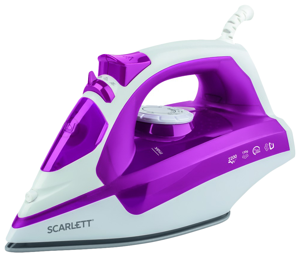 Утюг Scarlett SC SI30K25 White/Pink/Grey