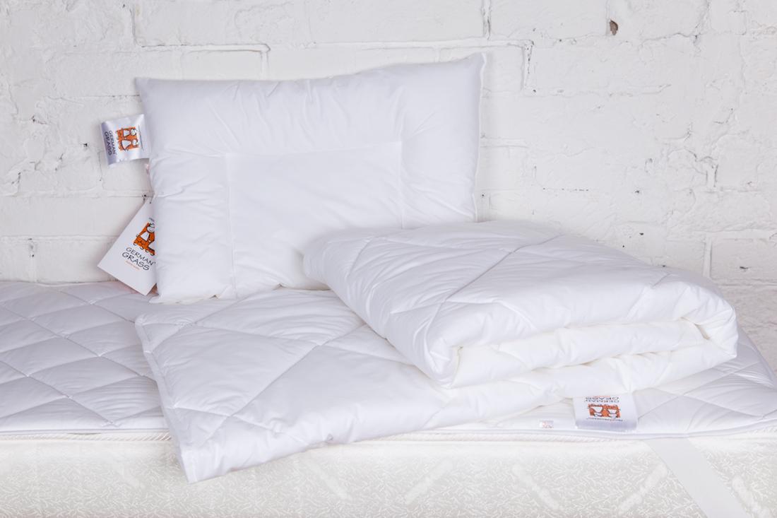 Комплект Grass BABY 95C: подушка 40x60, одеяло