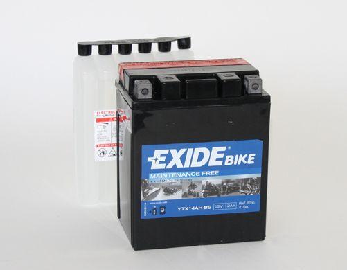Аккумулятор автомобильный EXIDE ETX14AH-BS 12 Ач