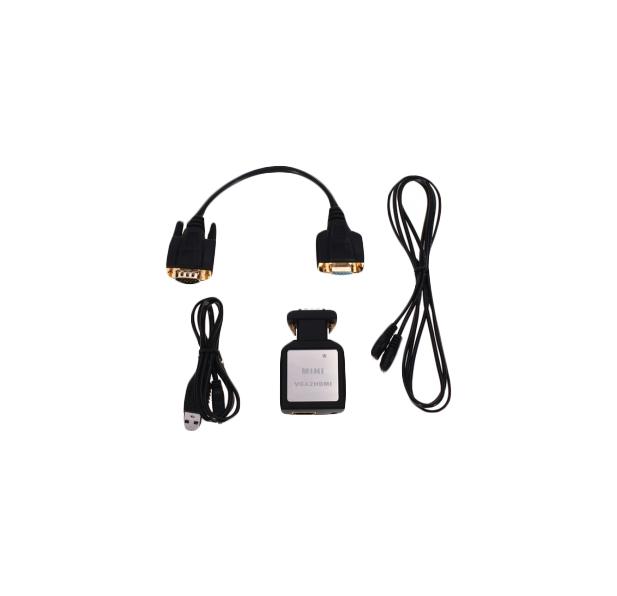 Переходник для кабеля Vconn VGA в HDMI