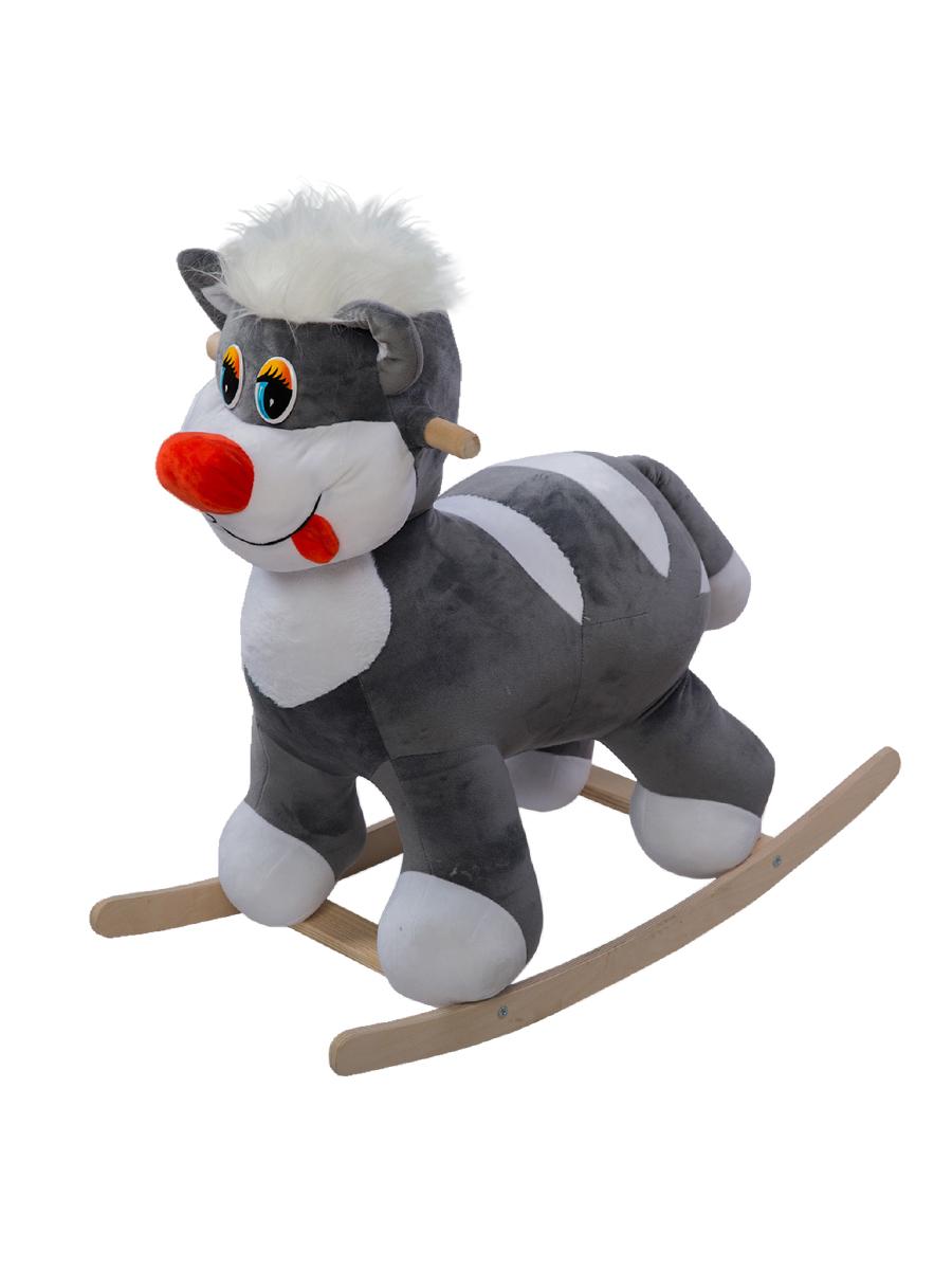 Купить Качалка ToysGo Кот серый, Качалки детские