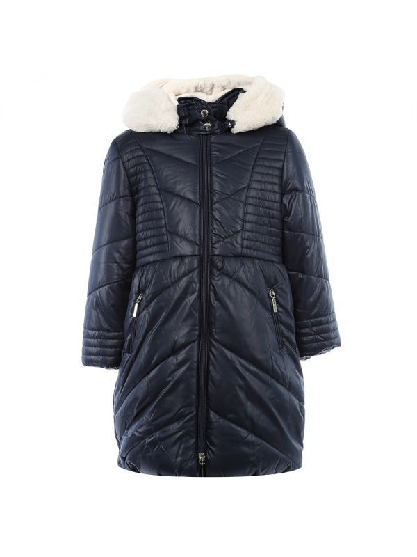 Купить 4, 487/19, Пальто Mayoral темно-синий р.98, Пальто для девочек