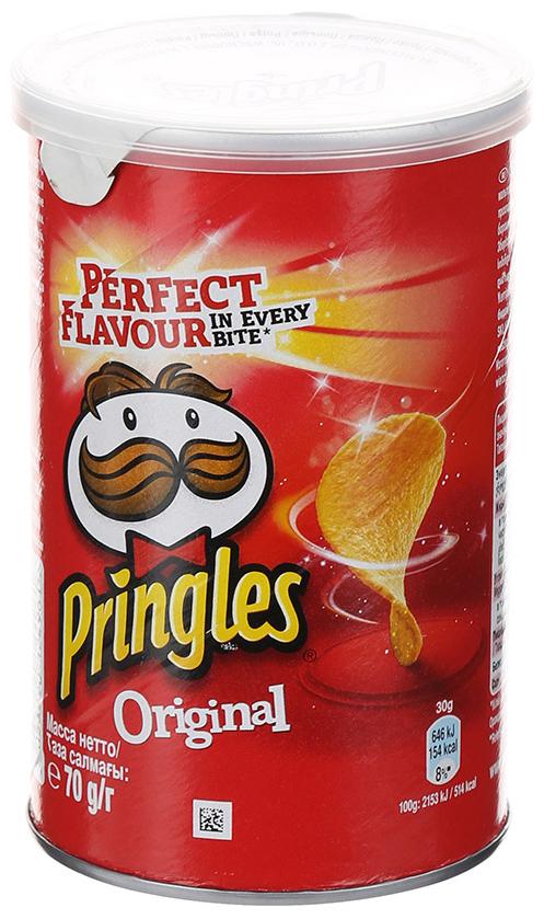 Чипсы Pringles оriginal картофельные 70 г фото