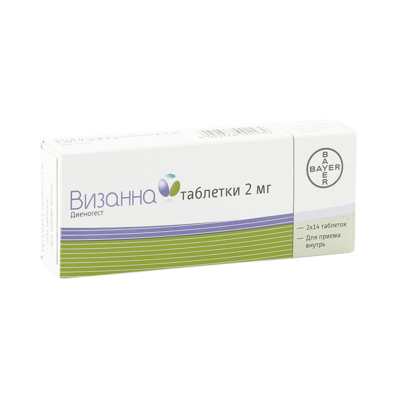 Визанна таблетки 2 мг 28 шт.