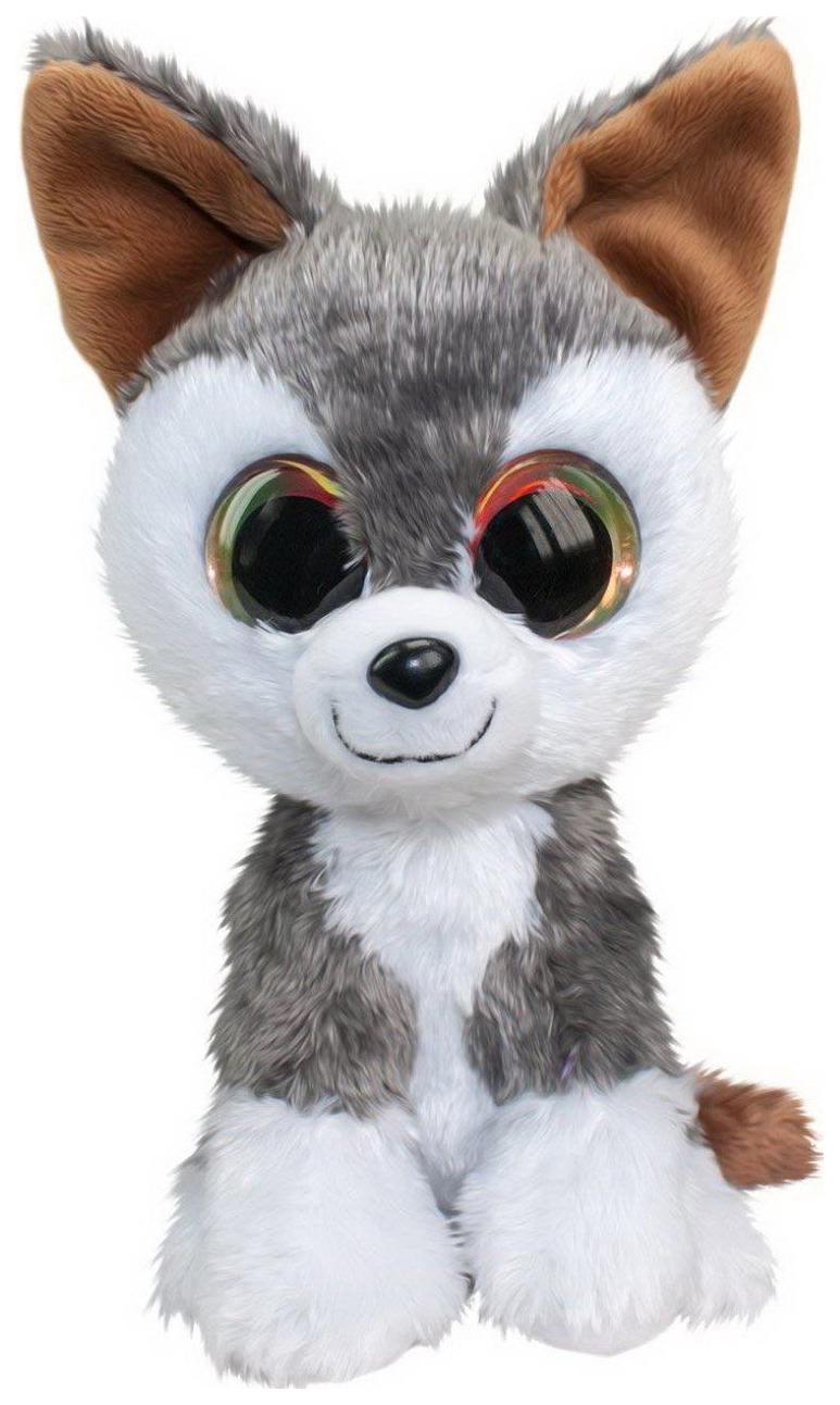 Купить Мягкая игрушка Tactic Волк Hukka, серый, 15 см, Мягкие игрушки животные
