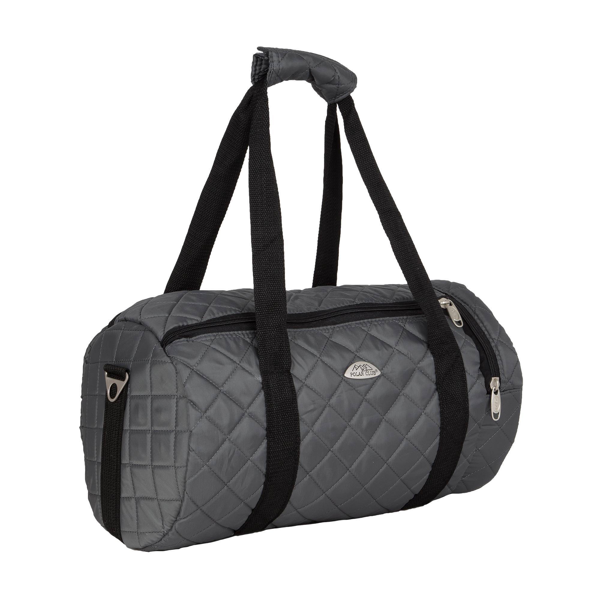 Спортивная сумка Polar П7080 серая