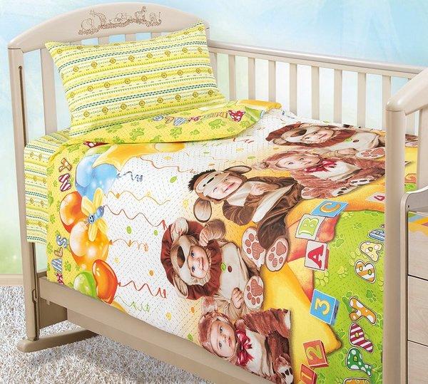 Детское постельное белье Текс-Дизайн Детский праздник