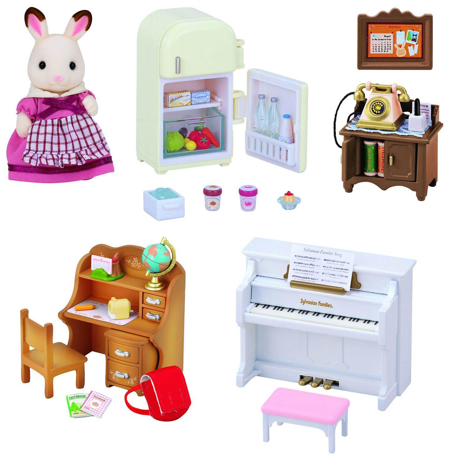 Купить Набор игровой Sylvanian Families Мебель для дома Марии, Игровые наборы