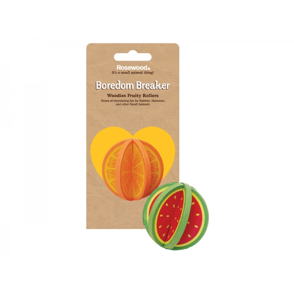 Игрушка для грызунов Rosewood дерево, фрукты