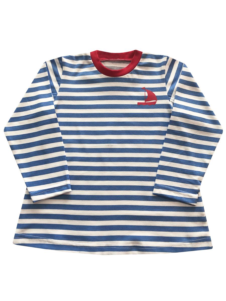 Купить Джемпер детский КотМарКот К морю р.74 голубой, Детские джемперы, кардиганы, свитшоты