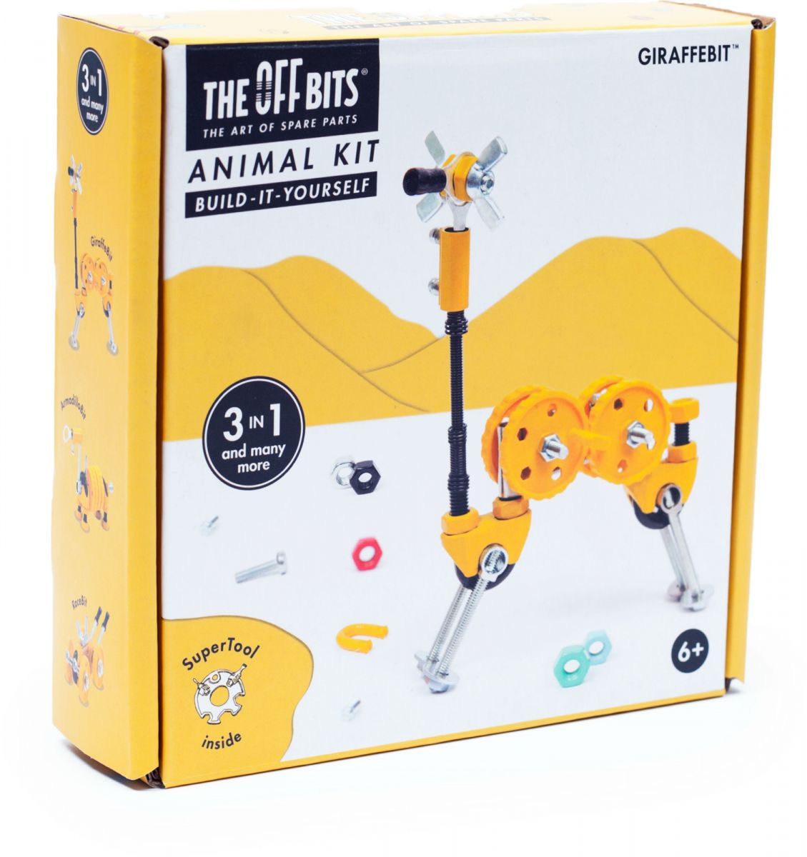 Купить Игрушка – конструктор The Offbits Giraffebit,