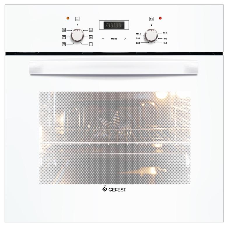 Встраиваемый электрический духовой шкаф GEFEST ДА 622-02 БS White