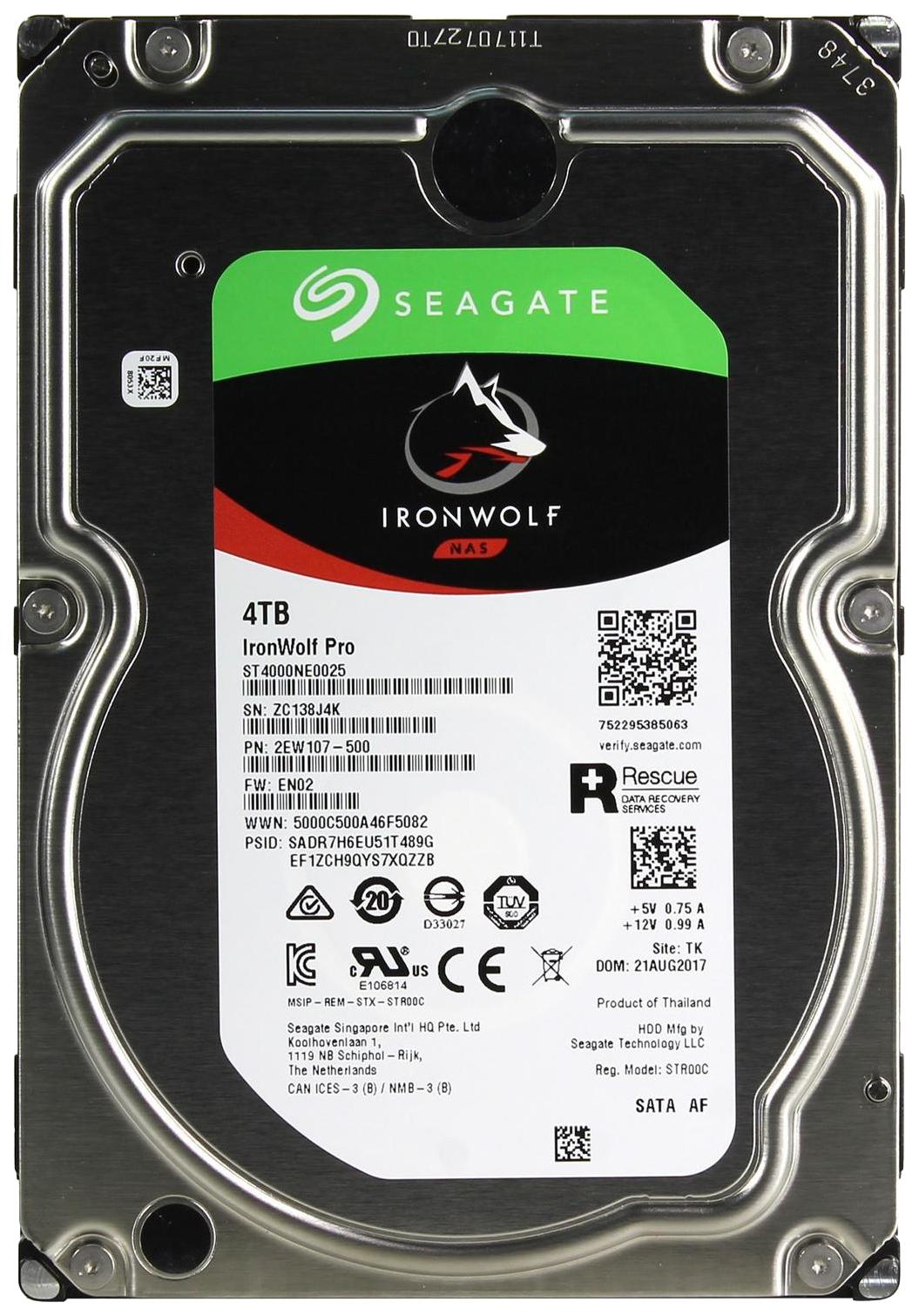 Внутренний жесткий диск Seagate IronWolf Pro