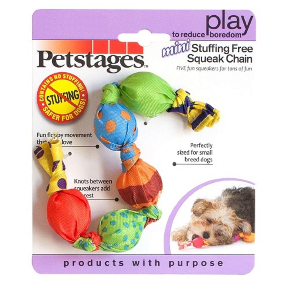 Игрушка пищалка для собак Petstages Жевательная цепь,