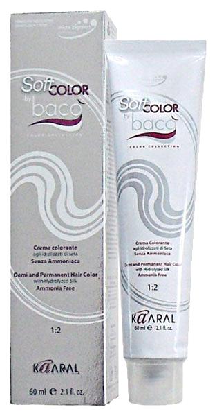 Краска для волос Kaaral Baco Soft 10.10 Светлый пепельный блондин 60 мл