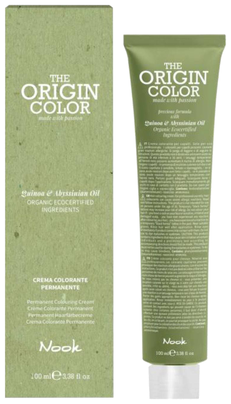 Краска для волос Nook The Origin Color 7.71 Шоколадный холодный блондин 100 мл