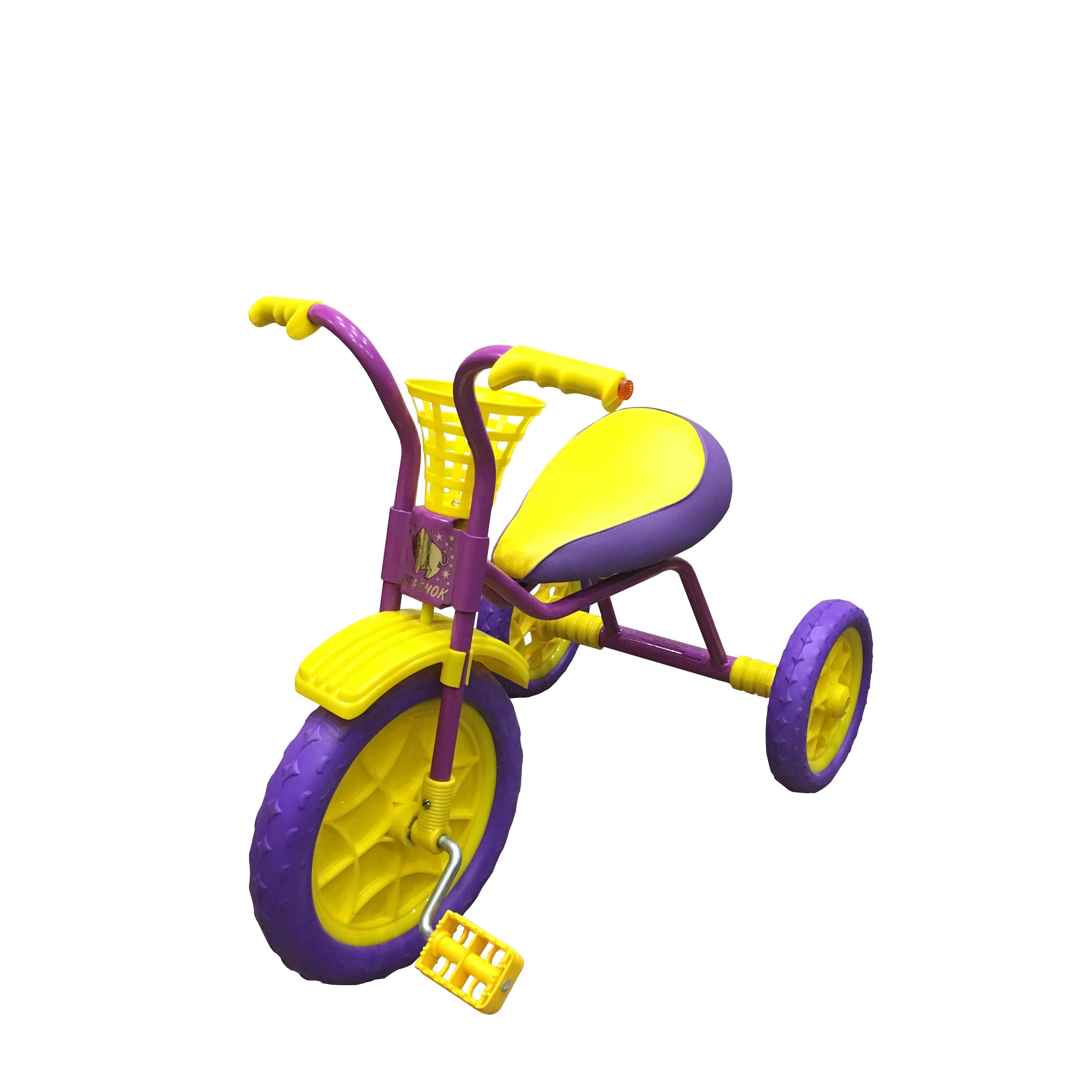 Купить Трехколесный велосипед Woodlines Зубренок Сиреневый, Детские трехколесные велосипеды