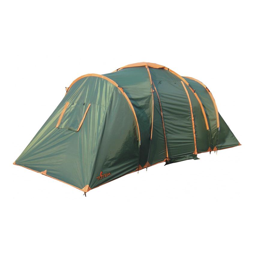 Палатка Totem Hurone 4 V2 Зеленый Цвет зеленый