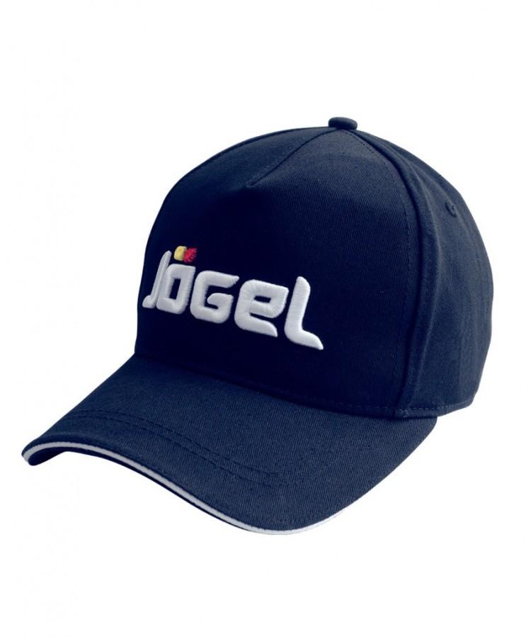 Бейсболка Jogel JC 1701 091, темно синяя/белая,