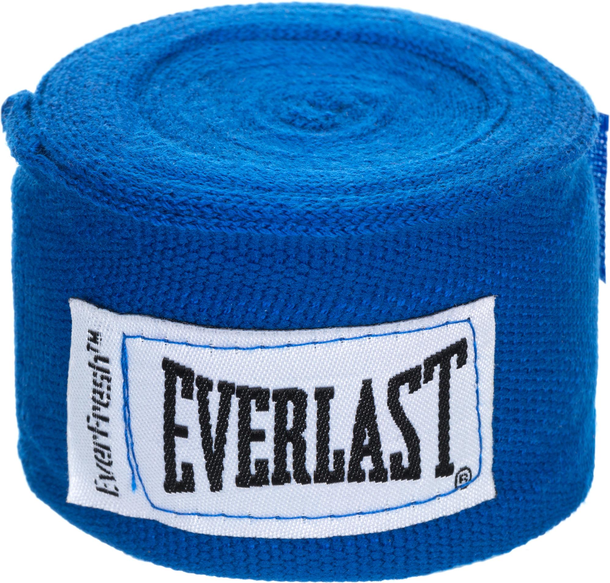Бинт боксерский Everlast 4464BL, 3.5 м, эластик,