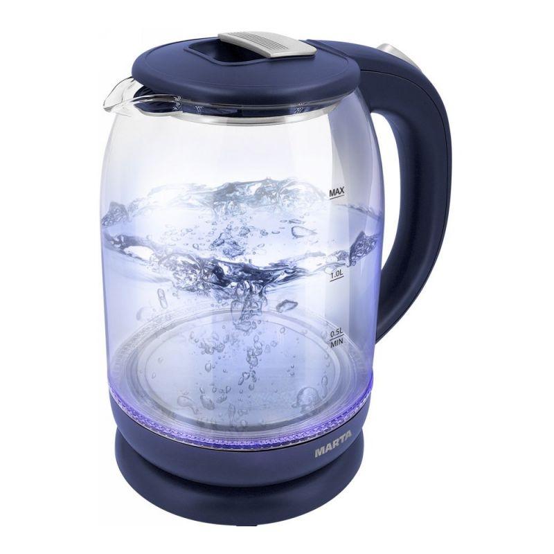 Чайник электрический Marta MT 1096 Blue/Silver