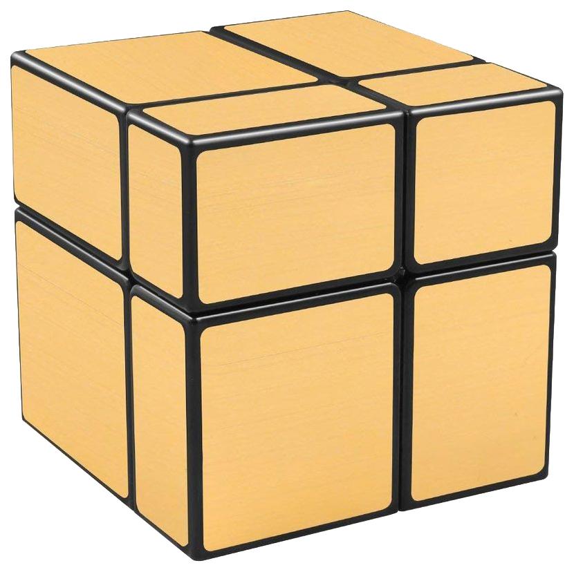 Головоломка PlayLab Зеркальный Кубик 2х2 Золото