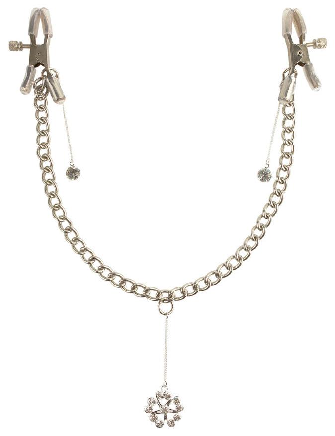 Зажимы для сосков Pipedream Crystal Nipple Clamps
