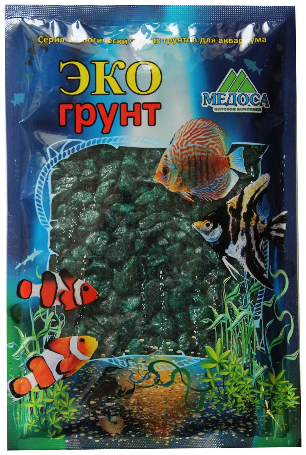 Грунт для аквариума ЭКОгрунт Мраморная крошка Изумрудная