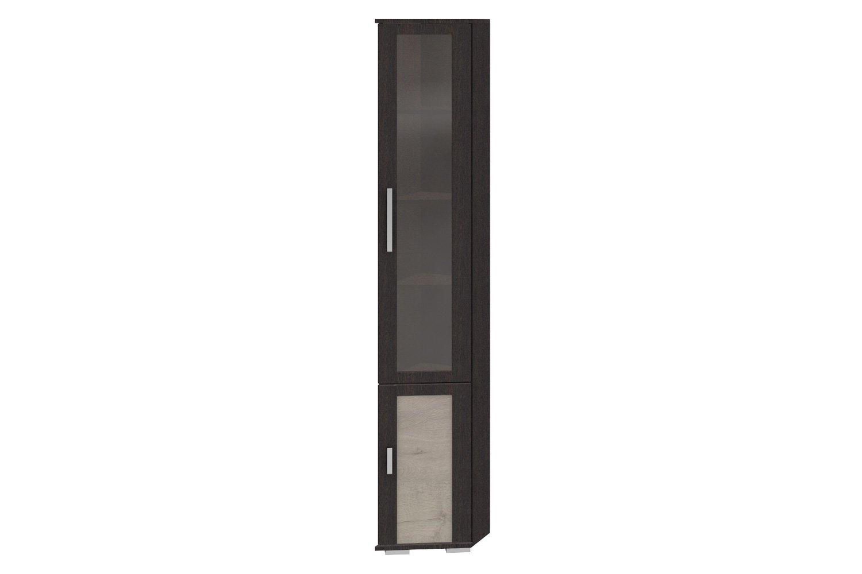 Платяной шкаф Hoff Валери 80272347 31х199,2х37, венге цаво/дуб бонифацио