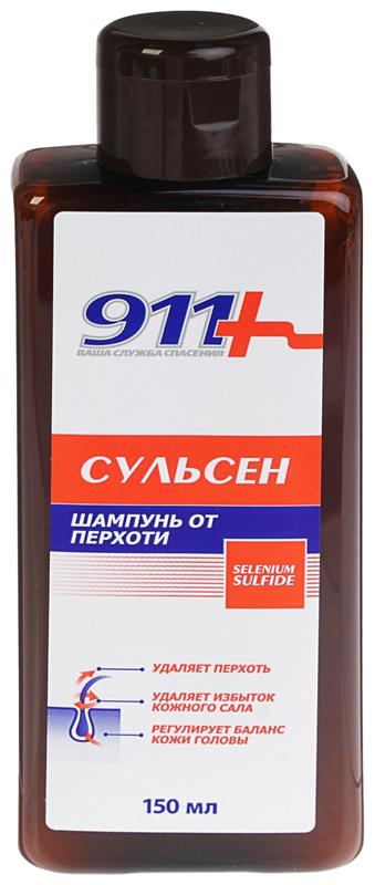 Шампунь 911 сульсен от перхоти 150 мл