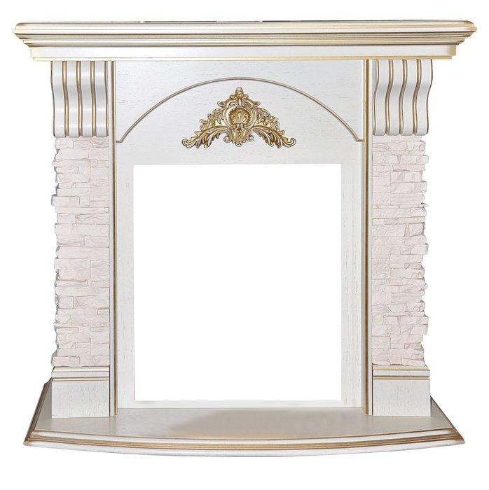 Деревянный портал для камина Real Flame ATHENA