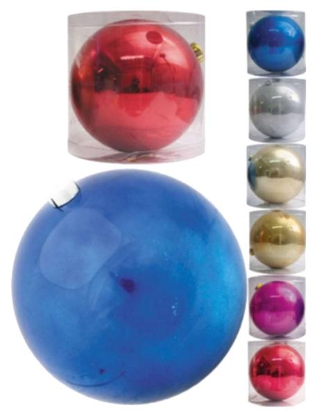 Новогодняя елочная игрушка Snowmen Блестящий шар