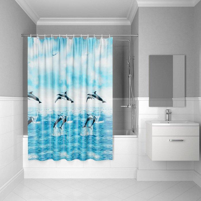Штора для ванной комнаты IDDIS Promo P21PV11i11